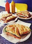 Assortment of Sandwiches Stock Photo - Premium Royalty-Free, Artist: foodanddrinkphotos, Code: 621-00730094