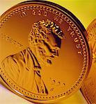 US Penny Stock Photo - Premium Royalty-Free, Artist: Ron Fehling, Code: 621-00738415