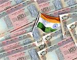 Indian Flag and Rupee Stock Photo - Premium Royalty-Free, Artist: Paul Eekhoff, Code: 621-00738439
