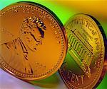 US Penny Stock Photo - Premium Royalty-Free, Artist: Ron Fehling, Code: 621-00738457