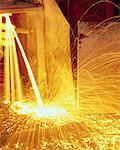 Molten Metal and Sparks Stock Photo - Premium Royalty-Free, Artist: David Mendelsohn, Code: 621-00738749