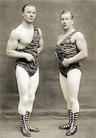 Two Strongmen Stock Photo - Premium Royalty-Freenull, Code: 621-00738872