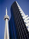 CN Tower in Toronto, Canada Stock Photo - Premium Royalty-Free, Artist: Matthew Plexman, Code: 621-00739818