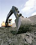 Digger Stock Photo - Premium Royalty-Free, Artist: Glowimages, Code: 621-00739926