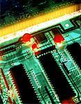 Close Up of Circuit Board Stock Photo - Premium Royalty-Free, Artist: Ikon Images, Code: 621-00739955