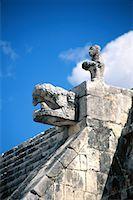Chichen Itza, Mexico Stock Photo - Premium Royalty-Freenull, Code: 621-00740742