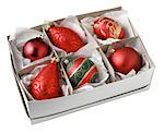 Box of Ornaments Stock Photo - Premium Royalty-Freenull, Code: 621-00743663