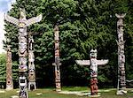 Native American art in Vancouver, Canada Stock Photo - Premium Royalty-Free, Artist: John Foster, Code: 621-00744362