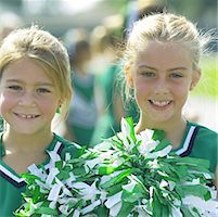 Little Cheerleaders Stock Photo - Premium Royalty-Freenull, Code: 621-00745496