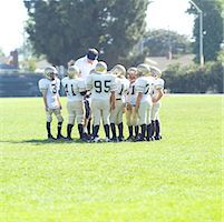 Pee Wee Football Team Stock Photo - Premium Royalty-Freenull, Code: 621-00745553