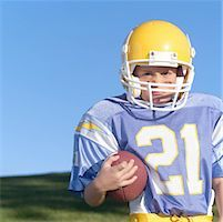 Aggressive Pee Wee Leaguer Stock Photo - Premium Royalty-Freenull, Code: 621-00745557