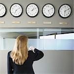International Time Zones Stock Photo - Premium Royalty-Free, Artist: David Muir, Code: 621-00745796