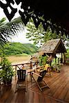 LuangSay Lodge on the Mekong River, Laos    Stock Photo - Premium Rights-Managed, Artist: R. Ian Lloyd, Code: 700-00747795