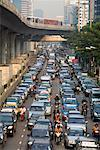 Traffic on Sathon Road, Bangkok, Thailand    Stock Photo - Premium Rights-Managed, Artist: R. Ian Lloyd, Code: 700-00747814