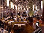 Restaurant, Intercontinental Hotel, Toronto, Ontario, Canada    Stock Photo - Premium Rights-Managed, Artist: Michael Mahovlich, Code: 700-00747836