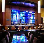 Restaurant, Intercontinental Hotel, Toronto, Ontario, Canada    Stock Photo - Premium Rights-Managed, Artist: Michael Mahovlich, Code: 700-00747838