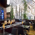 Restaurant, Intercontinental Hotel, Toronto, Ontario, Canada    Stock Photo - Premium Rights-Managed, Artist: Michael Mahovlich, Code: 700-00747839