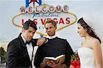 Couple Getting Married in Las Vegas, Nevada, USA
