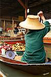 Floating Market, Damnoen Saduak, Thailand    Stock Photo - Premium Rights-Managed, Artist: Janet Bailey, Code: 700-00748476