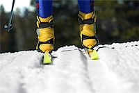 Person of cross-country skiing/ Stock Photo - Premium Royalty-Freenull, Code: 604-00753750
