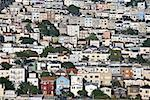 Aerial view of houses in San Francisco, California Stock Photo - Premium Royalty-Free, Artist: Tomasz Rossa, Code: 604-00754198