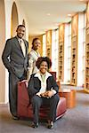 People in library Stock Photo - Premium Royalty-Free, Artist: Marie Blum, Code: 604-00754417