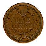 Indian Head penny Stock Photo - Premium Royalty-Free, Artist: Jean-Christophe Riou, Code: 604-00759024