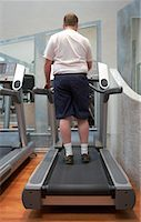 Man Using Treadmill    Stock Photo - Premium Rights-Managednull, Code: 700-00767943