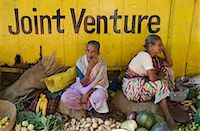 Women Selling Vegetables, Goa, India    Stock Photo - Premium Rights-Managednull, Code: 700-00768263