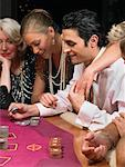 People Playing Cards    Stock Photo - Premium Rights-Managed, Artist: Masterfile, Code: 700-00768647