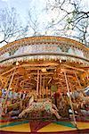 Merry Go Round    Stock Photo - Premium Rights-Managed, Artist: TSUYOI, Code: 700-00768878
