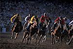 Horse Racing, Calgary Stampede, Calgary, Alberta, Canada