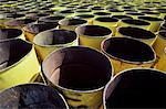 Empty Oil Drums Stock Photo - Premium Royalty-Free, Artist: Greg Stott, Code: 621-00788627