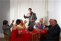 Best Man Giving Speech at Wedding    Stock Photo - Premium Rights-Managednull, Code: 700-00796310