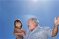 Grandfather and Grandson    Stock Photo - Premium Royalty-Freenull, Code: 600-00796512
