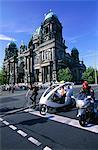 Germany, Berlin, Cathedral, bike and pedicab Stock Photo - Premium Royalty-Freenull, Code: 610-00799964