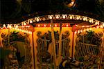Carousel in an amusement park at night, San Diego, California, USA Stock Photo - Premium Royalty-Free, Artist: Oriental Touch, Code: 625-00805537