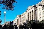 Low angle view of a building, Washington DC, USA