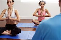 Women Practicing Yoga    Stock Photo - Premium Royalty-Freenull, Code: 600-00824893