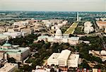 Aerial view of a government building, Washington DC, USA