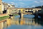 Ponte Vecchio, Florence, Italy    Stock Photo - Premium Royalty-Free, Artist: Guy Grenier, Code: 600-00846697