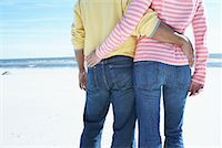 Couple at Beach    Stock Photo - Premium Rights-Managednull, Code: 700-00847044