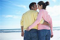 Couple at Beach    Stock Photo - Premium Rights-Managednull, Code: 700-00847046