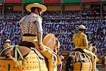 Bullfighters Entering Ring, Pamplona, Spain    Stock Photo - Premium Rights-Managed, Artist: Mike Randolph, Code: 700-00847407