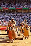 Bullfighters Entering Ring, Pamplona, Spain    Stock Photo - Premium Rights-Managed, Artist: Mike Randolph, Code: 700-00847408