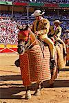 Bullfighters Entering Ring, Pamplona, Spain    Stock Photo - Premium Rights-Managed, Artist: Mike Randolph, Code: 700-00847409