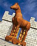 Trojan Horse    Stock Photo - Premium Rights-Managed, Artist: Guy Grenier, Code: 700-00847701