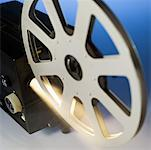Close-up of a film projector Stock Photo - Premium Royalty-Free, Artist: Scott Tysick, Code: 627-00858311