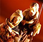 Nativity statues Stock Photo - Premium Royalty-Free, Artist: Robert Harding Images, Code: 627-00859417