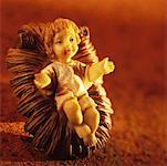Baby Jesus nativity figure Stock Photo - Premium Royalty-Free, Artist: Robert Harding Images, Code: 627-00859454
